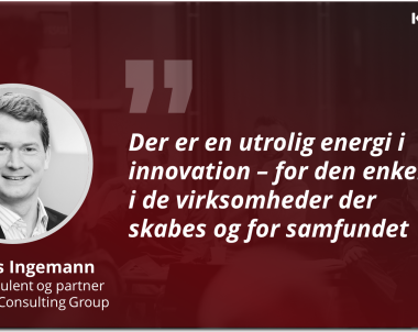 Medlemsportræt: Rasmus Ingemann, seniorkonsulent og partner i Implement Consulting Group