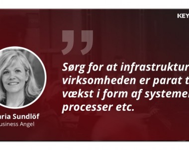 Medlemsportræt: Maria Sundöf, business angel